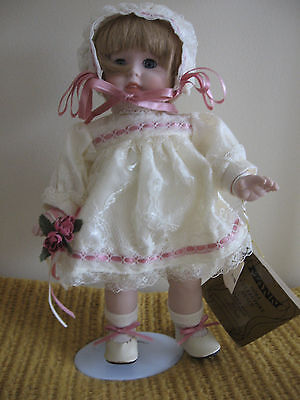"""SEYMOUR MANN - Connoissseur Doll Collection - 12"""" baby - NEW - Tags"""
