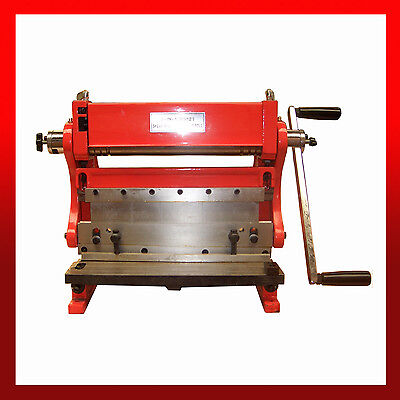 WNS 3 in 1 Combination Machine 300mm - Bending Rolls, Guillotine & Folder 0.8mm