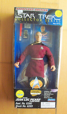 "STAR TREK - Collector Series - Captain Jean-Luc Picard 9"" Figur Playmates 1995"