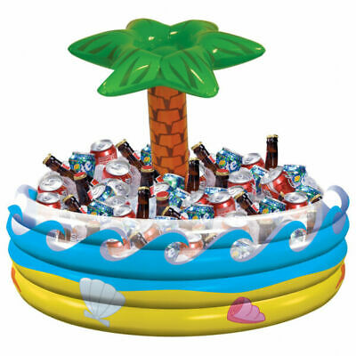 Inflatable Cooler Tropical Palm Tree Hawaiian - by Amscan International
