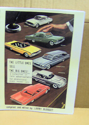 Out of Print THE LITTLE ONES SELL THE BIG ONES promo model car advertisements