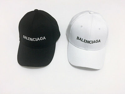 Baseball Cap Balenciaga² Embroidery Strap Back Adjustable Hat Vintage Golf Sport