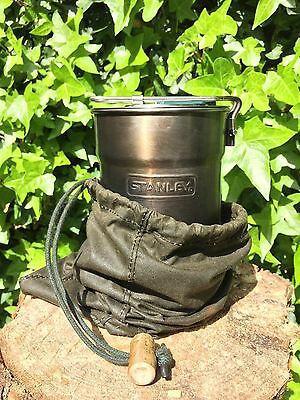 Wax Cotton Stanley Pot Bushcraft Carry Sack
