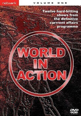 WORLD IN ACTION volume One 1. 2 discs. New sealed DVD.