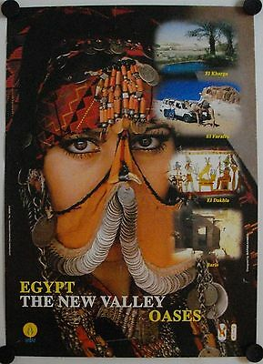Affiche EGYPTE The New Valley - Oasis