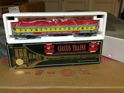 K-LINE k83-0094  HEAVYWEIGHT RINGLING CIRCUS PERFORMERS CAR BRAND NEW IN THE BOX