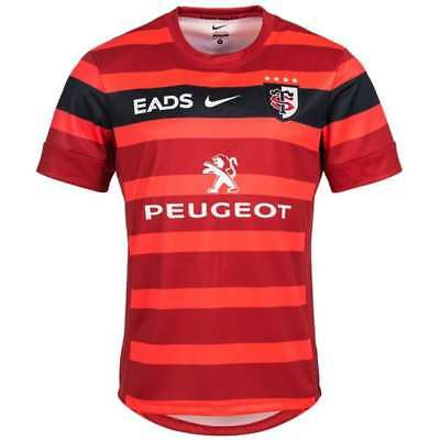 Maillot Rugby Neuf  Stade Toulousain Taille S-M-L-XL - TOULOUSE France 19 shirt-