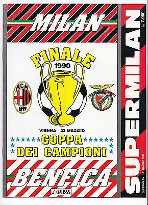 1990 EUROPEAN CUP FINAL AC Milan v Benfica (Italian Issued Edition Super Milan)