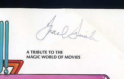 FRANK SINATRA Authentic Signed/Autograph MGM Vegas Hallelujah Hollywood program