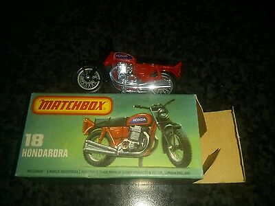 matchbox Honda Road 750 four motorcycle