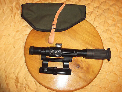 """Yugo SKS scope with mount 25.4mm 1"""" for Yugo SKS with rail RARE"""