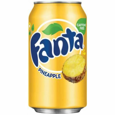 Fanta Pineapple Can  - 12 Pack - Free Shipping!