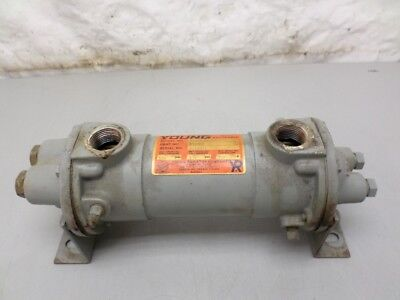 Young Fixed Tube Heat Exchanger F-301-HY-4P, 150 PSI 350 Deg F