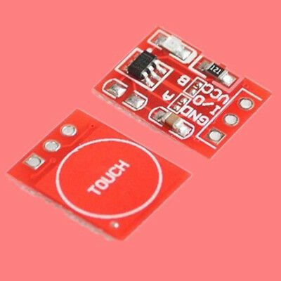 10Pc TTP223 2.5-5.5V Capacitive Touch Switch Button Self-Lock Module for Arduino