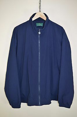 vtg 90s FRED PERRY BOMBER HARRINGTON MOD TRACK JACKET TRACKSUIT TOP SIZE LARGE
