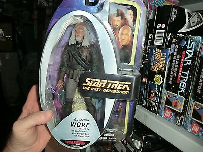 STAR TREK  Worf Gouveneur aus All Good Things Art Asylum Diamond NEU und OVP