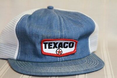 Vintage - Texaco - Denim Trucker Hat