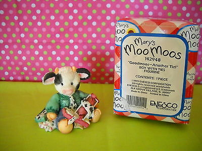 Mary's Moo Moos*good Moos--Another Tie Sty#142948 53Mm148 W/box