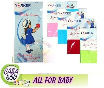 YO! Luxury Baby Girls Toddler Microfibre Tights various colours