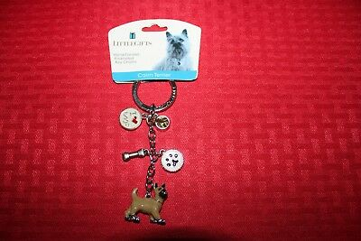 Little Gift Dog Key Chain Cairn Terrier