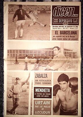 1968/69 FAIRS CUP Athletic Bilbao v Liverpool (Preview)