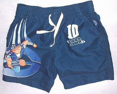 Lazy Town Sportacus Blue Shorts For Dressing Up Etc Labelled 3-4 Years Lazytown