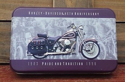 Collectible Harley-Davidson 95Th Anniversary Playing Cards In Collector Tin 1998
