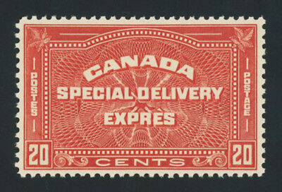 CANADA #E5, 20c 1932 Special Delivery, XF-OG-NH, sound, 2019 Scott is $115