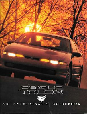 1990 90 Eagle Talon  original sales brochure