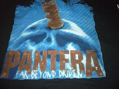 Pantera Vintage 1995 Shirt ( Used Size XL Missing Tag ) Nice Condition!!!