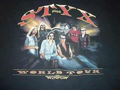 Styx Tour Shirt ( Used Size L ) Very Good Condition!!!