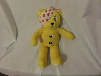 "15"" cute soft pudsey bear bear factory children in need bbc plush doll"