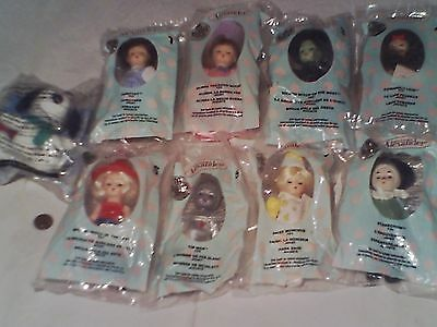 The Wizard Of Oz 2007 McDonald's Madame Alexander Dolls DOROTHY 3 WITCHES SNOOPY