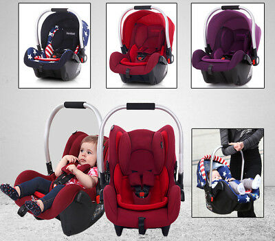 New Adjustable Portable Baby Child Car Safety Seat Sleeping Basket Newborn Chair