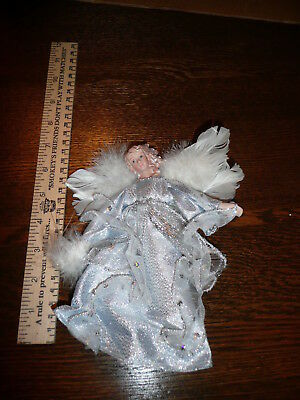 Vintage! Angel Ornament - With Real Feathers - Collection Sale!