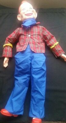 "Howdy Doody Ventriloquist Doll 29""tall"