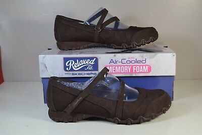 NIB SKECHERS RELAXED Fit Bikers Get Up Chocolate Sneakers Shoes Sz 7 11 49405