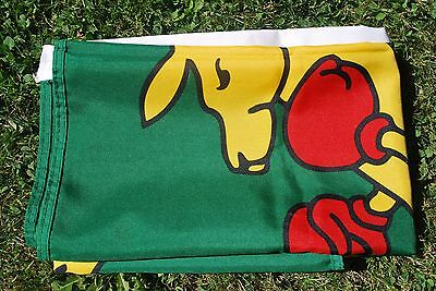 AUSTRALIA BOXING KANGAROO FLAG 3' x 5' NEW DOUBLE SIDED DESIGN LARGE FLAG