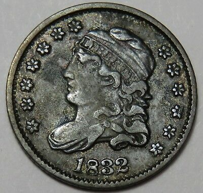 1832 Liberty Capped Bust Silver Half Dime 5c US Coin Item #14763