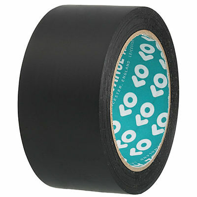 AT44 PVC Wrap tap black 50mm x 108.24 ft UV durable low Soforthaftung