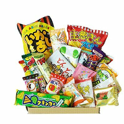 Happy Dagashi Box 20pcs ver.2 Japanese Candy assortment Umaibo Snack potato Chip