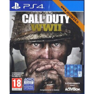 ✅Call of Duty WWII + Omaggio Random - PlayStation 4 [ITA]