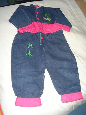 Combinaison Jean Marese - taille 4 ans