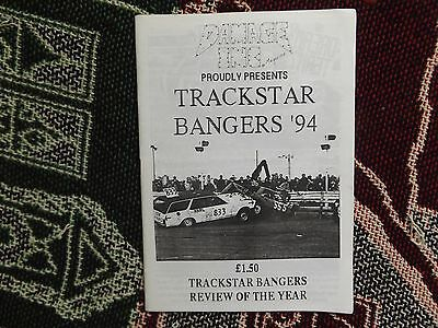 Damage Inc Magazine - Trackstar Bangers 1994 Review Of The Year - Banger Racing