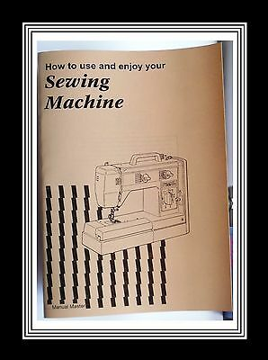 Models VX757 & VX760 Jones Brother  sewing machine instruction Manual Booklet