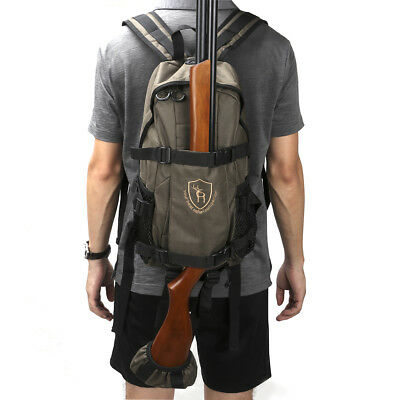 Tourbon Tactical Slips Backpack Molle Bags Hunting Rifle Shotgun Holder Carrying