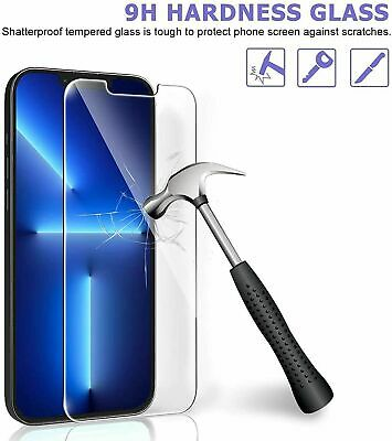 Vitre Film protection écran verre Trempé iPhone 8/7/6/6S/Plus/SE/5S/X/XR/XS/MAX