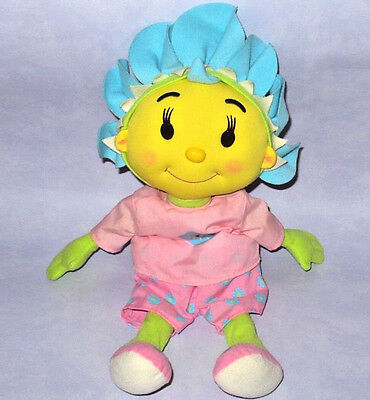 "Bbc Fifi And The Flower Tots 18"" Pyjama / Nightie Case Cover Plush Soft Toy Vgc"