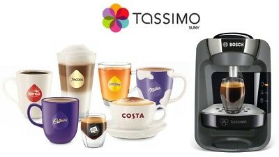 Bosch Tassimo Suny T32 Tas3202Gb Coffee Hot Drink Machine Rrp £120*new Free P&p*
