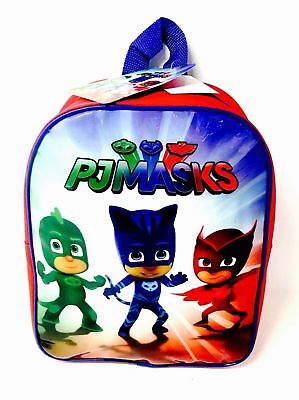 PJ Masks - JUNIOR BACKPACK - Back to School / Travel Bag - WH4 - 548 - NEW